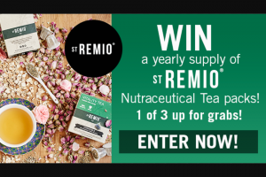 Channel 7 – Sunrise – Win an Entire Year's Supply of Neutraceutical Tea's Thanks to St Remio
