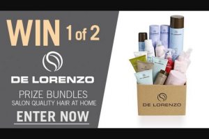 Channel 7 – Sunrise – Win One of Two Delorenzo Prize Packs (prize valued at $800)