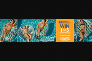 Clark Rubber – Win 1 of 5 Paradise Pool Packs By Telling Us In 25 Words Or Less (prize valued at $107.8)
