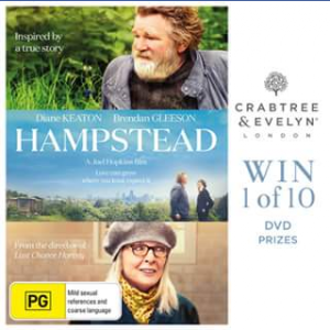Crabtree & Evelyn – Win One of Ten Copies of Hampstead on DVD