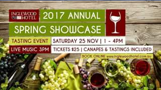 DB Publicity – Win a Double Pass to 2017 Annual Spring Showcase Inglewood Hotel Perth