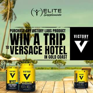 Elite Supps – Win a Trip to The Versace Hotel In The Gold Coast