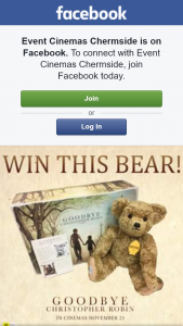 Event Cinemas Chermside – Win a Limited Edition Edward Bear