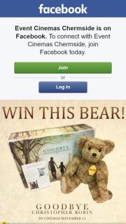 Event Cinemas Chermside – Win a Limited Edition Edward Bear