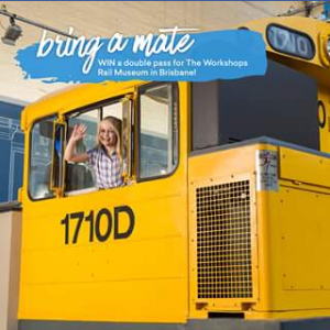 Experience Oz – Win a Double Pass to Visit Our Friends at The Workshops Rail Museum In Ipswich Near Brisbane