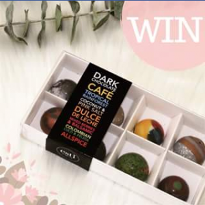 Feet Up Club FB – Win Two Boxes of Quite Possibly The Finest Chocolate In Sydney Is Follow @feetupclub and Esti Garcia Patissier Then Tag 2 Or More Friends