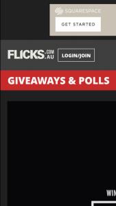 Flicks – Win 1/10 Double Pass to Borg Vs Mcenroe