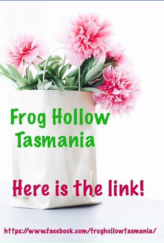 Frog Hollow Tasmania – Competition (prize valued at $100)