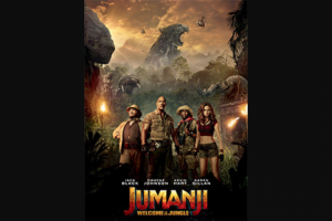 girl – Win One of 20 X In-Season Tickets to Jumanji Welcome to The Jungle