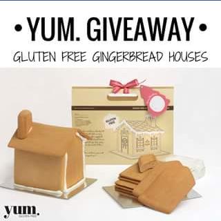 Gluten free – Win a Gluten Free Vegan Gingerbread House By Gingerbread Folk