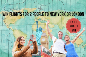 iFly – Win flights for 2 to New York or London flying Qantas Airways or Virgin Australia valued at $4,000