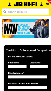 JB HiFi Pre-order The Hitman's Bodyguard – Win a Hitman's Bodyguard Experience for 2 Including Flights & Accommodation (prize valued at $5,100)