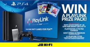 JB HiFi – Win a Playlink Prize Pack