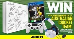 JB HiFi – Win a PS4 Signed By Australian Cricket Team