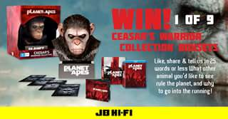 JB HiFi – Win One of Nine Ceasar's Warriors Collection Boxsets