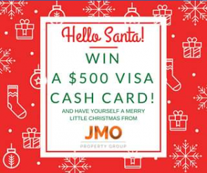 JMO Property Group – Win a $500 Visa Cash Card