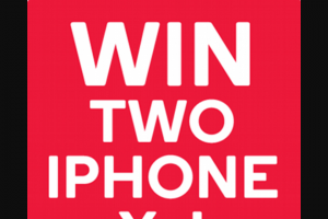 Kogan – 'win Two X Iphone Xs' Competition (prize valued at $3,158 AUD.)