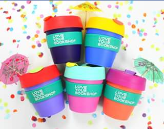 Love Your Bookshop – Win One of Five Branded Keep Cups