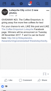 Lutwyche City – Win One of Five Coffee Vouchers From Coffee Emporium