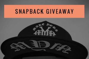 Make Your Mark Apparel Co – Win One of Our New Limited Edition Snapbacks