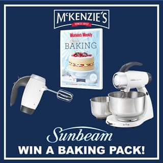 McKenzie's Foods – Win The Prize (prize valued at $328.9)