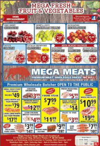 Mega Fresh Fruit & Vegetables – Win Our Weekly Prize of $50 In Store Credit (prize valued at $50)