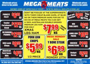 Mega Meats Booval – Win a $50 Voucher From Mega Meats Booval