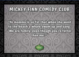 Mickey Finn – Win a Bottle of The Good Stuff By Giving Us Your Best Jokes