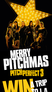 Mirvac – Win Trip to La Pitch Perfect 3 Or One of One Hundred Double Passes (prize valued at $24,000)