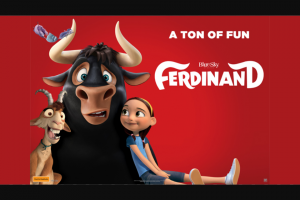 Mix 94.5 – Win Tickets to See Ferdinand