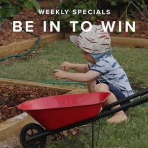 Mocka Australia – Win a Kids Steel Wheelbarrow
