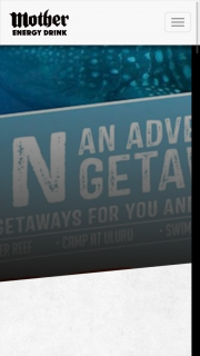 Mother Energy Drink-Caltex – Win an Adventure Getaways for You and 3 Friends (prize valued at $11,000)