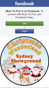 Mum to Five – Win 1 of 2 Christmas Wonderland Sydney Showground Prize Packs