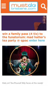 Must Do Brisbane – Win a Family Pass (4 Ticket) to The Funatorium