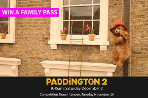 MyCityLife – Win a Family Pass to Paddington 2 Fill In Your Details