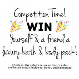 Naked Naturals – Win Yourself & a Friend a Luxury Bath & Body Pack