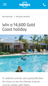 NMRA – Win The Ultimate 4-person Summer Holiday (prize valued at $4,600)