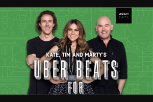 NOVA FM – Win Your Share of $10k By Playing 'beats for Ubereats' (prize valued at $10,000)