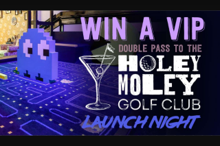 Nova 93.7 – Win One of 5 Double Passes to The Exclusive VIP Launch Party of Holey Moley on Wednesday 22nd November (prize valued at $2,500)
