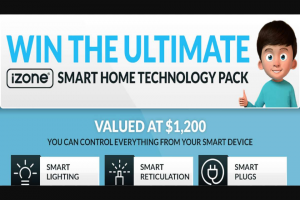 Nova 93.7 – Win The Ultimate Smart Home Technology Pack From Izone (prize valued at $18,000)
