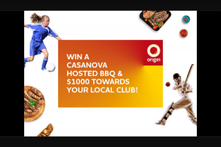 Nova 93.7 – Win this Legendary Prize (prize valued at $3,000)