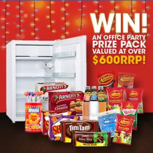 Office Choice – Win Your End of Year Office Party (prize valued at $1,874)