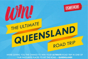 Paces We Go – Win The Ultimate Queensland Road Trip Terms and Conditions (prize valued at $6,000)