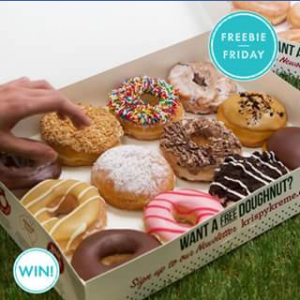 Pacific Fair Shopping Centre – Win 1 of 5 Boxes of Assorted Krispy Kreme (australia) Doughnuts Valued at $24.95