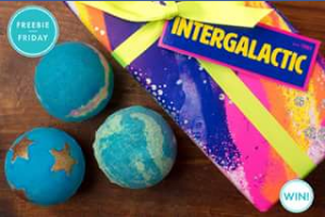 Pacific Fair Shopping Centre – Win 1 of 4 Interglalatic Gift Sets From Lush Australia