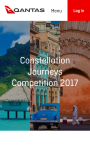 Qantas – Win One of Three Prizes for You and a Travel Companion (prize valued at $59,000)
