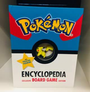 QBD Books – Win 1 of 5 Awesome Pokemon Encyclopedias (with Board Game & Pikachu Figurine)