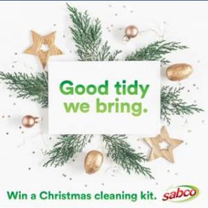 Sabco – Win a Sabco Christmas Cleaning Kit