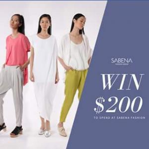 Sabena fashion group – Win a $200 Voucher