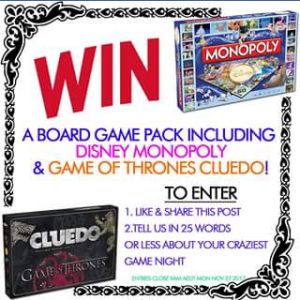 Sanity – Win a Board Game Prize Pack